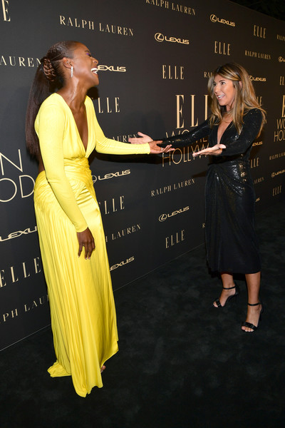 More Pics of Issa Rae Evening Dress (1 of 8) - Issa Rae Lookbook - StyleBistro [yellow,fashion,dress,premiere,event,flooring,fun,performance,carpet,long hair,lexus - arrivals,ralph lauren,26th annual women in hollywood celebration,nina garcia,issa rae,l-r,los angeles,the four seasons hotel,california,elle]