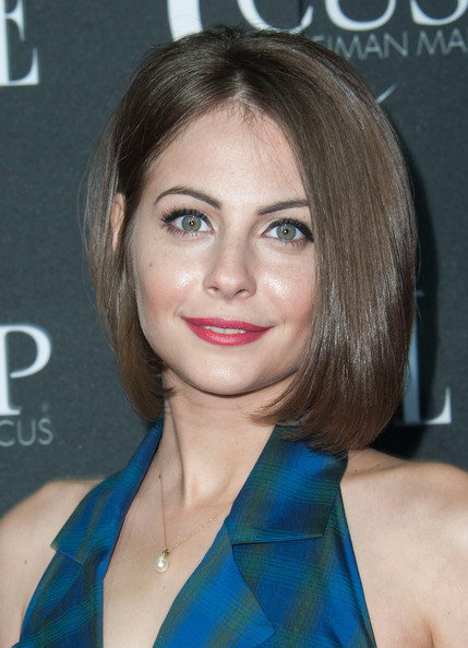 Willa Holland looked lovely with her bouncy bob at the 2014 Elle Women in Music event.