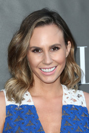 Keltie Knight was sweetly coiffed with this wavy 'do at the Elle Women in Comedy event.