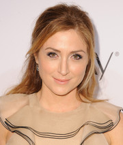 Sasha Alexander attended the Elle Women in Television celebration wearing a casual half-up 'do.