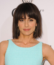 Constance Zimmer sported a youthful short cut with bangs during the Elle Women in Television celebration.