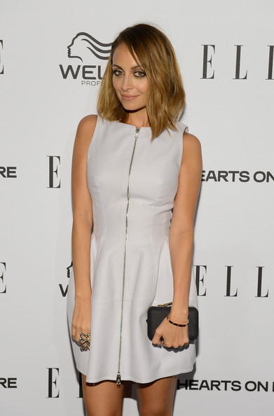 More Pics of Nicole Richie Mid-Length Bob (8 of 14) - Shoulder Length Hairstyles Lookbook - StyleBistro