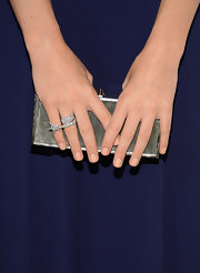 Christa Allen went with a peachy beige nail color for the 2013 ELLE Women in Television Celebration.