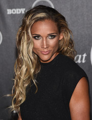 Lolo Jones wore beach-glam blonde waves to the ESPN's Body at ESPYs pre-party.