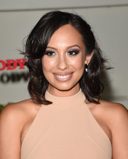 Cheryl Burke looked pretty with her half-pinned waves at the Body at ESPYs pre-party.