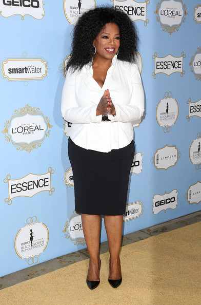 More Pics of Oprah Winfrey Fitted Blouse (4 of 29) - Oprah Winfrey Lookbook - StyleBistro