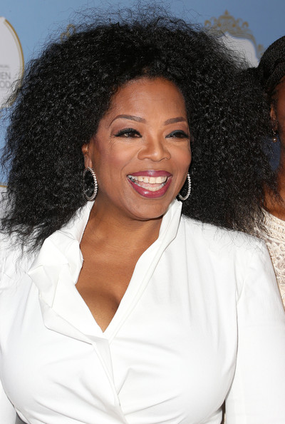 More Pics of Oprah Winfrey Long Curls (1 of 29) - Oprah Winfrey Lookbook - StyleBistro
