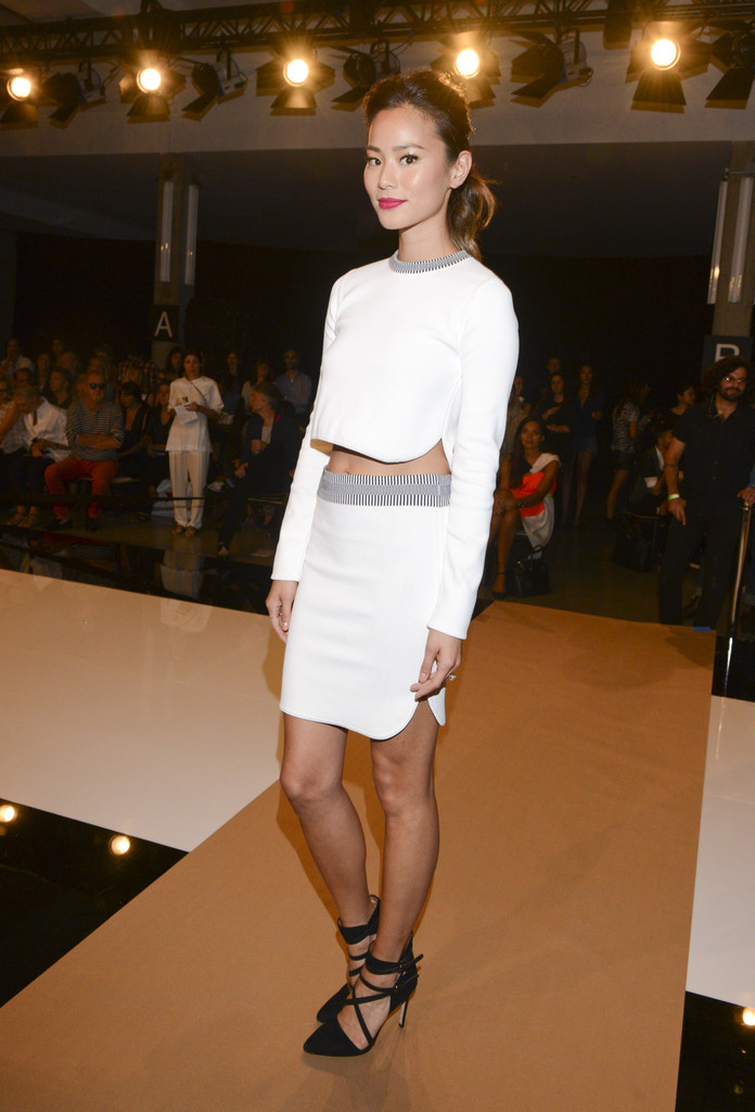 Jamie Chung At Edun Best Dressed Front Row Celebs At