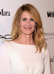 Laura Dern sported edgy, piecey waves with side-swept bangs when she attended the Women in Film pre-Oscar cocktail party.