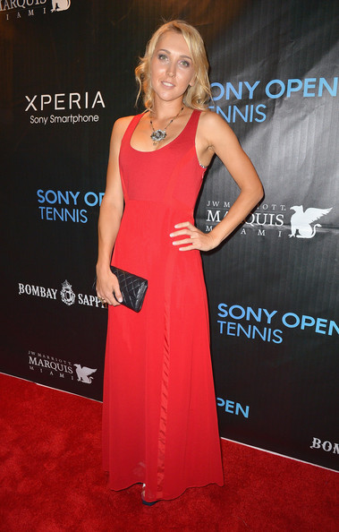 Elena Vesnina Evening Dress