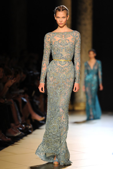 Elie Saab Runway at F/W 2012/2013 Paris Fashion Week