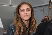 Elisa Sednaoui Red Nail Polish