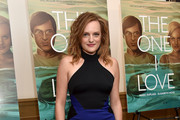 Elisabeth Moss Halter Dress