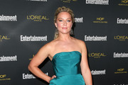 Elisabeth Rohm Strapless Dress