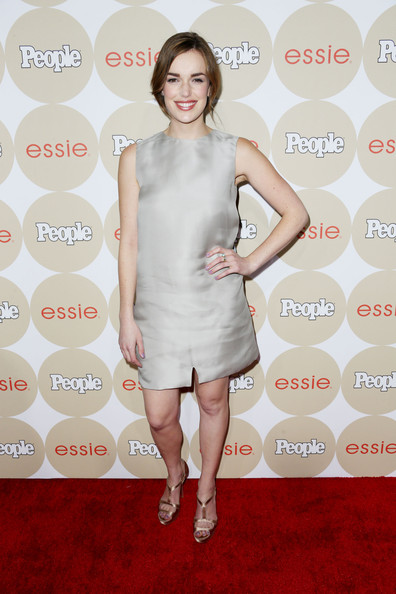 Elizabeth Henstridge Mini Dress
