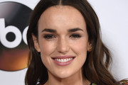 Elizabeth Henstridge Long Wavy Cut