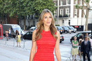 Elizabeth Hurley Form-Fitting Dress