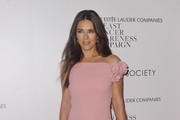 Elizabeth Hurley Off-the-Shoulder Dress
