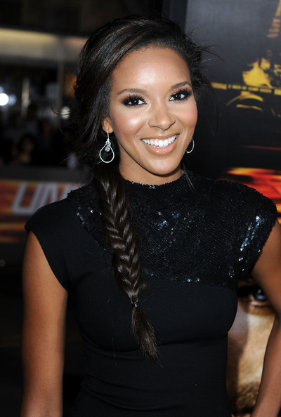 Elizabeth Mathis Long Braided Hairstyle