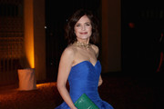Elizabeth McGovern Strapless Dress