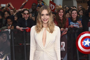 Elizabeth Olsen Cutout Dress