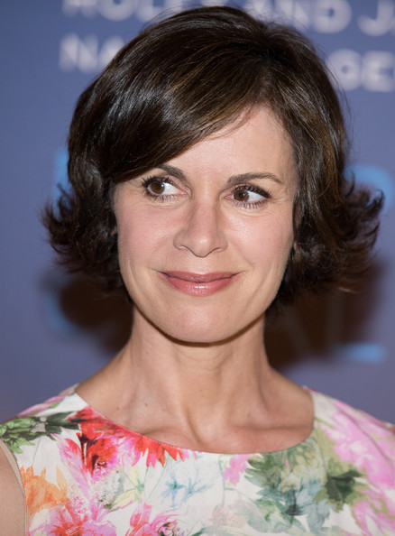 Elizabeth Vargas Layered Razor Cut [hair,hairstyle,face,eyebrow,chin,lip,brown hair,blond,layered hair,bangs,elizabeth vargas,deepsea challenge 3d,new york,american museum of natural history,premiere,new york premiere]