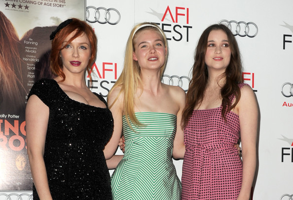 """AFI FEST 2012 Presented By Audi - """"Ginger And Rosa"""" Special Screening - Red Carpet"""