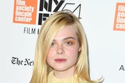 Elle Fanning Bright Eyeshadow