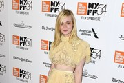 Elle Fanning Crop Top