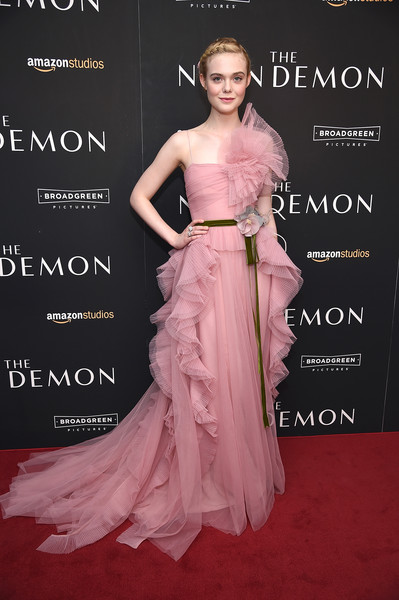 Elle Fanning Princess Gown