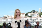 Elle Fanning Mini Dress