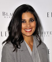 Designer Rachel Roy stepped out for Elle Magazine's 25th Anniversary party where she showed off her medium straight cut.