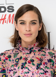 Alexa Chung opted for a casual mid-length bob when she attended the Elle Style Awards.