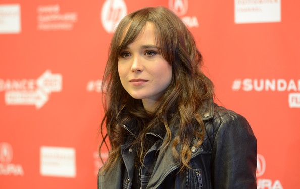 Ellen Page Long Curls