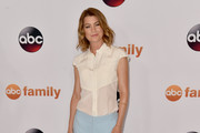 Ellen Pompeo Button Down Shirt