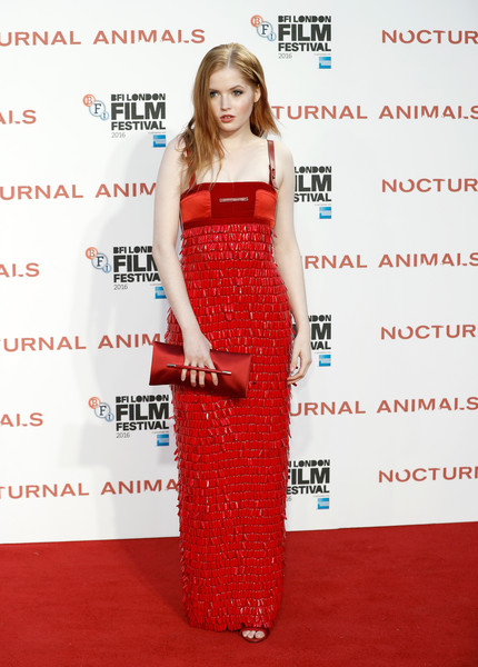Ellie Bamber Fringed Dress