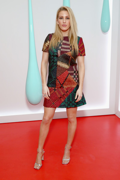 Ellie Goulding Evening Sandals