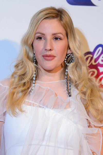 Ellie Goulding Long Curls