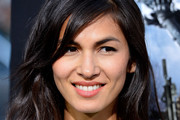 Elodie Yung Long Wavy Cut with Bangs