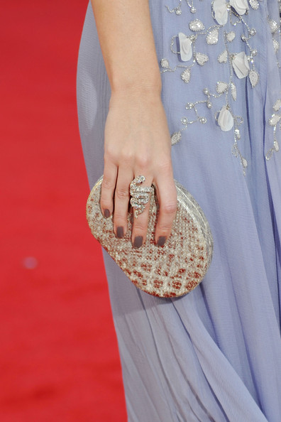 Emily Blunt Statement Ring