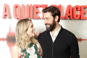 Emily Blunt John Krasinski 'A Quiet Place' Screening - Arrivals