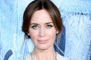Emily Blunt Layered Gemstone Necklace