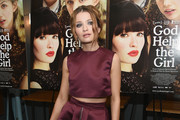 Emily Browning Knee Length Skirt