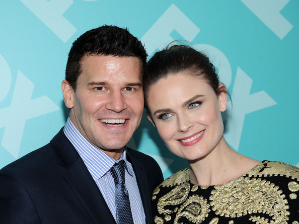 David Boreanaz And Emily Deschanel 2014 More Pics of Emily Des...