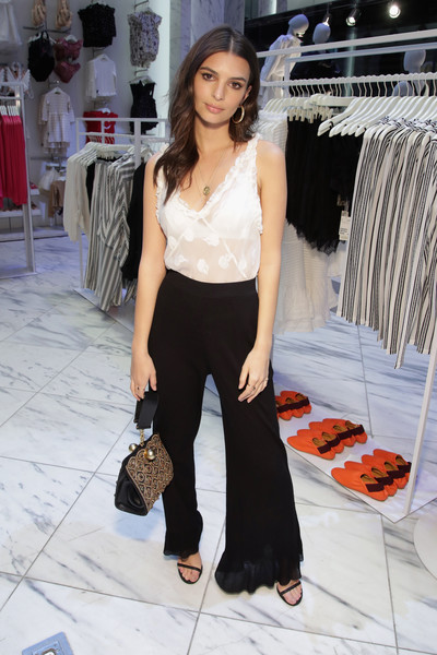 Emily Ratajkowski Beaded Purse