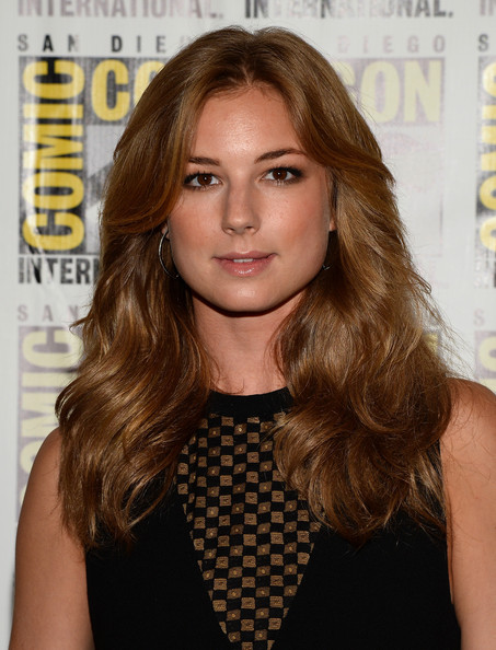 Emily VanCamp Long Wavy Cut