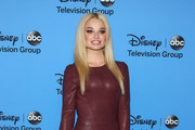 Emma Rigby Leather Dress