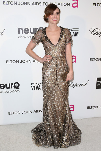 Emma Roberts Evening Dress