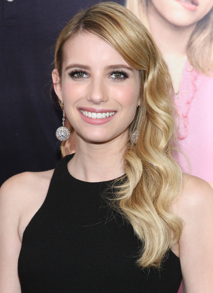 Emma Roberts Side Sweep