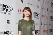 Emma Stone Knee Length Skirt